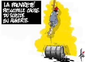 suicide en algérie