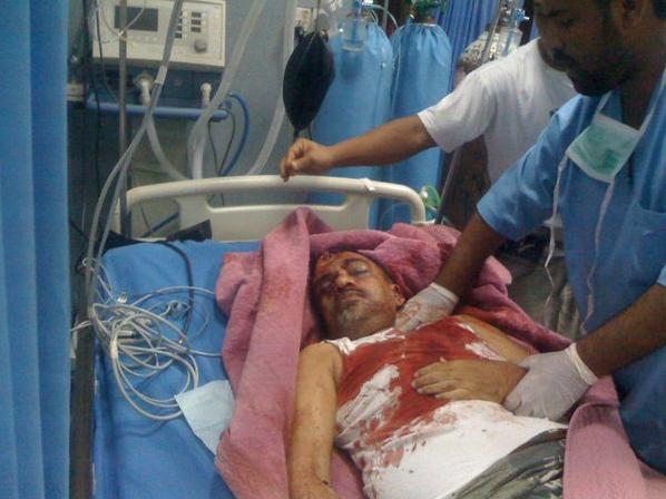 homme blessé par balles à Aden le 25/02