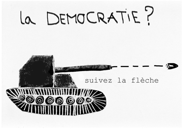 démocratie char