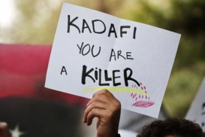 kadafi you are killer