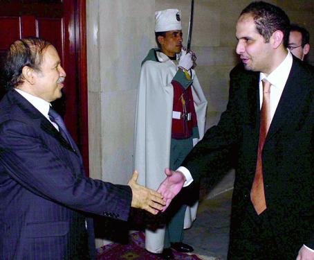 Bouteflika avec Abd Elmoumen Khalifa