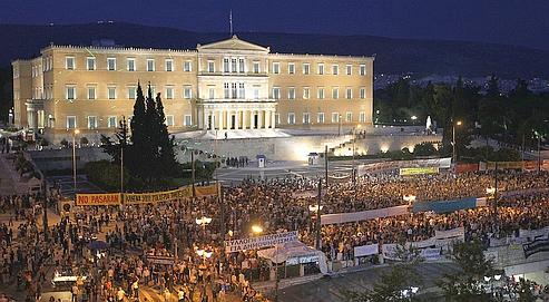 Manifestation Athènes 15/06/2011