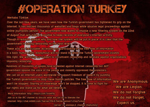 Poster Operation Turkey