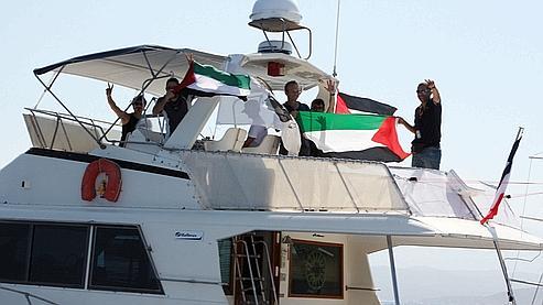 Le bateau français Al Karama