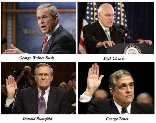 Les quatres hauts responsables américains menacés de poursuites judiciaires