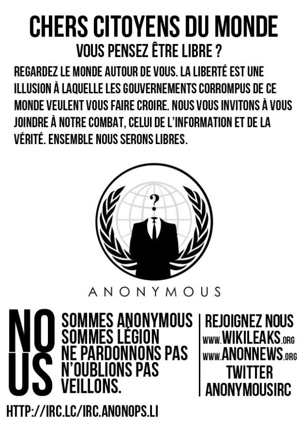Un des posters d'Op paperstorm