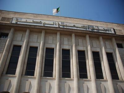 Le siège de l'assemblé populaire algérien -Alger-