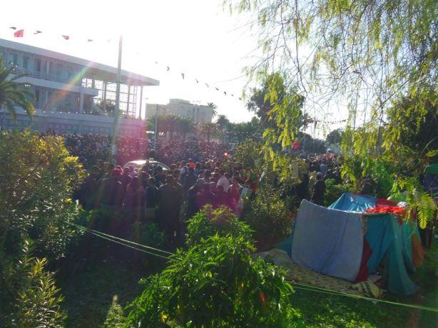 Sit in du Bardo à Tunis, le 03 Décembre 2011