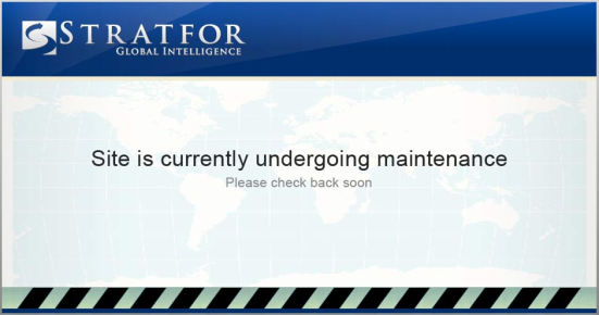 Capture d'écran du site de Stanfor, prise le 25/12/2011 à 22h00 GMT