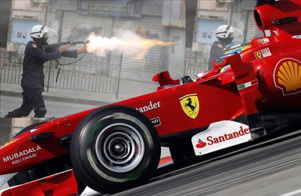 Le Grand prix du Formula 1 du Bahreïn a bien eu lieu malgré ma contestation